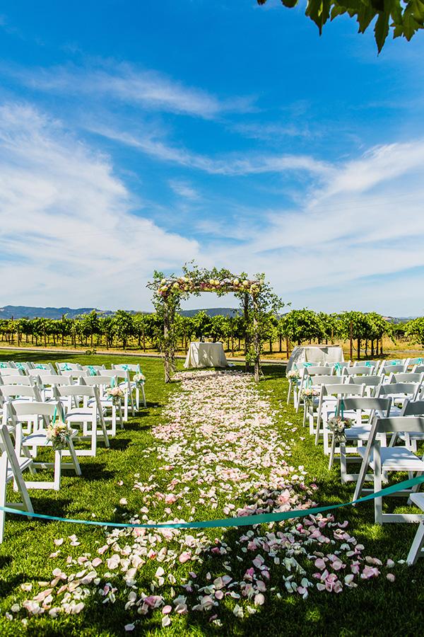 Pastel Garden Wedding in Sonoma | Damian Hamilton Photography