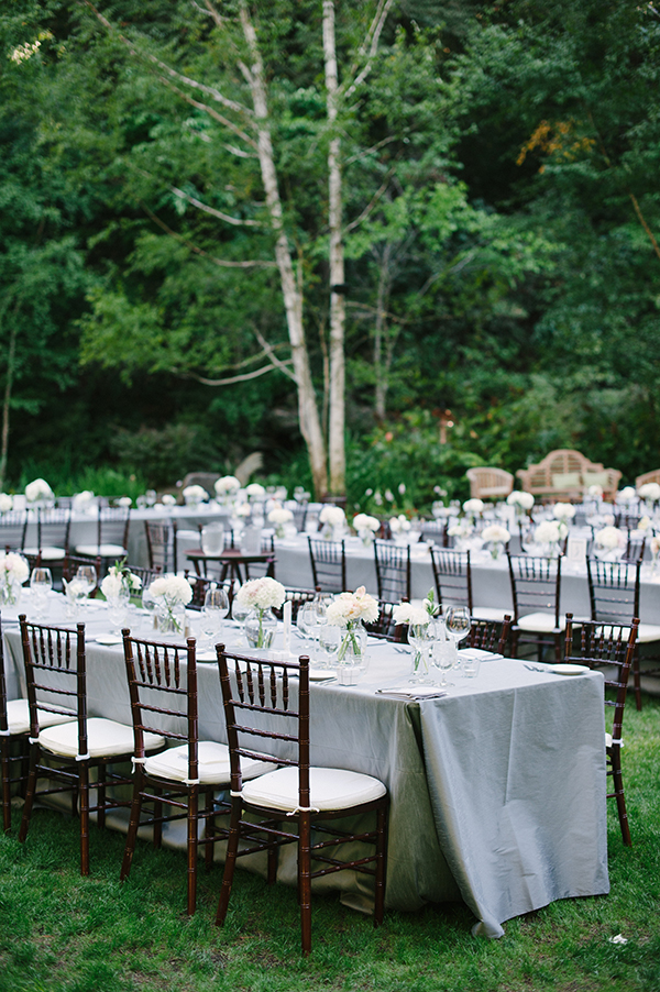 Silver And Grey Linens