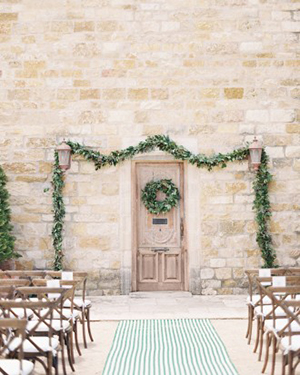 Elegant Villa Ceremony at Sunstone Winery | Jen Huang Photography | Grey Likes Weddings Gets Married! Inside Summer Watkins