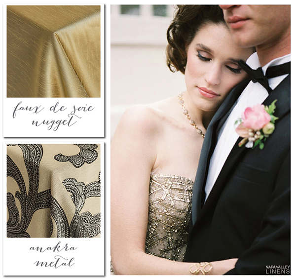 Antique Gold and Black Modern Winter Wedding | Gorgeous Winter Color Palettes to Celebrate the Holidays!