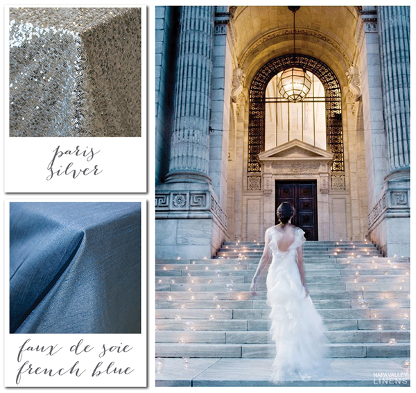 Silver and Blue Winter Wedding | Gorgeous Winter Color Palettes to Celebrate the Holidays!