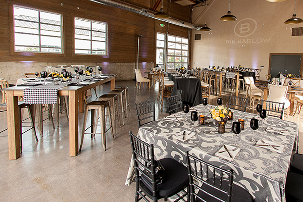 Modern Neutral Event Decor | Gina Peterson Photography | Modern Industrial Event Inspiration from ISES Napa-Sonoma