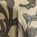 Ankara Metal Patterned Linens from Napa Valley Linens