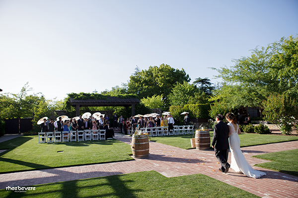 Rustic Elegance For A Vineyard Wedding At The Vintage Estate