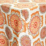 Tangier Pumpkin Patterned Table Runner