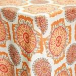 Tangier Pumpkin Patterned Table Runner