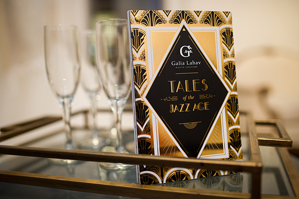 Glam Art Deco Invitation | Brian MacStay Photography | Tales of the Jazz Age - A Galia Lahav Preview at Kinsley James Couture Bridal Salon