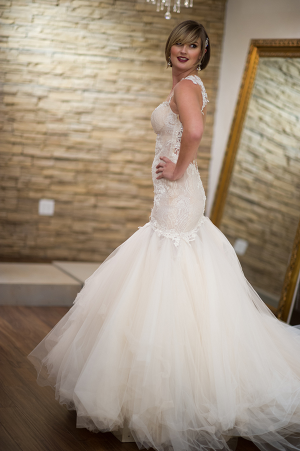 Tulle Mermaid Wedding Dress | Brian MacStay Photography | Tales of the Jazz Age - A Galia Lahav Preview at Kinsley James Couture Bridal Salon