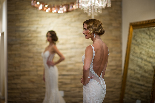 Low Back Wedding Dress | Brian MacStay Photography | Tales of the Jazz Age - A Galia Lahav Preview at Kinsley James Couture Bridal Salon