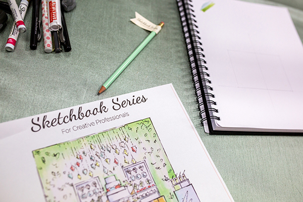 The Sketchbook Series for Creative Professionals | Photoflood Studios | Partnering with The Sketchbook Series!