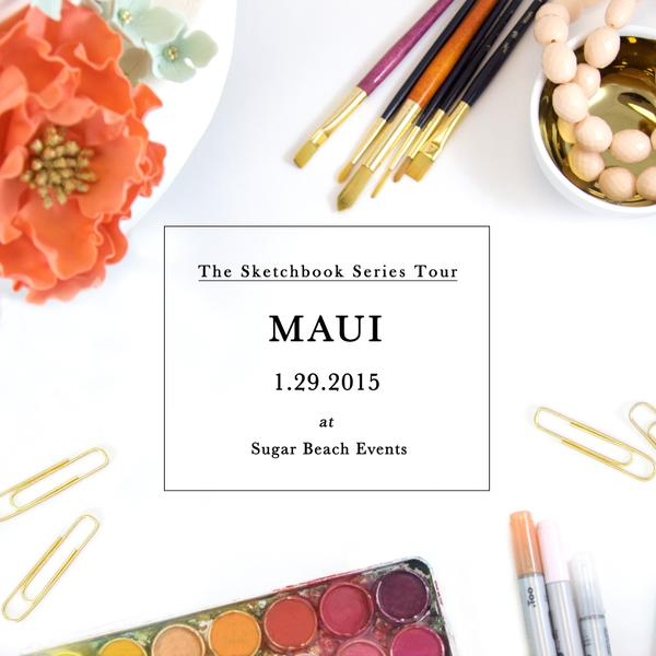 Join Us for the Sketchbook Series in Maui!