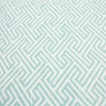 Tetris Aqua Table Runner from Napa Valley Linens