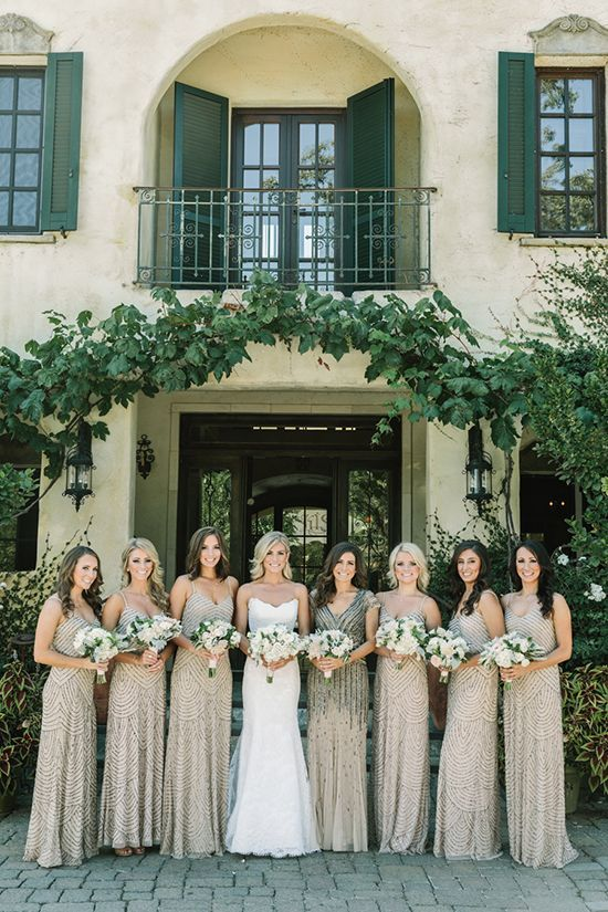French Inspired Wedding At A Wine Country Chateau Napa Valley Linens Blog