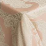 Ankara Blush Table Linens from Napa Valley Linens