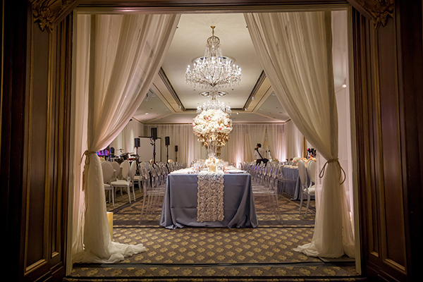 Rococo Glam Wedding Reception | Colson Griffith Photography | French Chic at the San Francisco NACE Gala 2014!