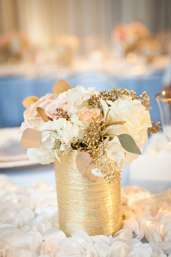 Petite Gold Wire Centerpieces | Colson Griffith Photography | French Chic at the San Francisco NACE Gala 2014!