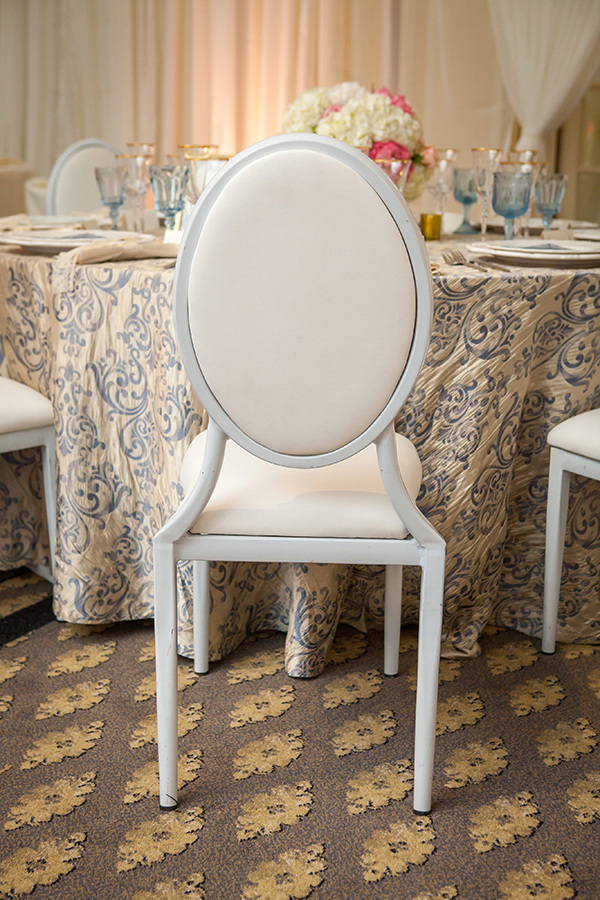 Rococo Inspired Wedding Reception in Blue and Cream | Colson Griffith Photography | French Chic at the San Francisco NACE Gala 2014!