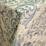 Danieli Federal Blue Table Linens | French Chic at the San Francisco NACE Gala 2014!