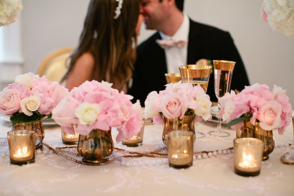 Black Tie and Blush Styled Wedding | Gladys Jem Photography and Charmed Events Group | A Charming Blush Valentines Day Elopement