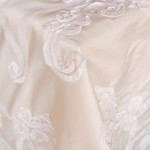 Billies Roses Ivory Table Linen