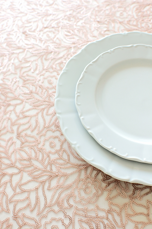 Overlay Flora Blush | Introducing the Summer 2015 Collection from Napa Valley Linens!