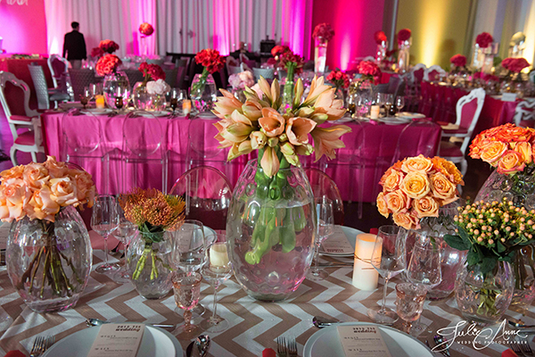 Bold Colors and Chevron Sequins at TSE Wedding Show! - The Special Event
