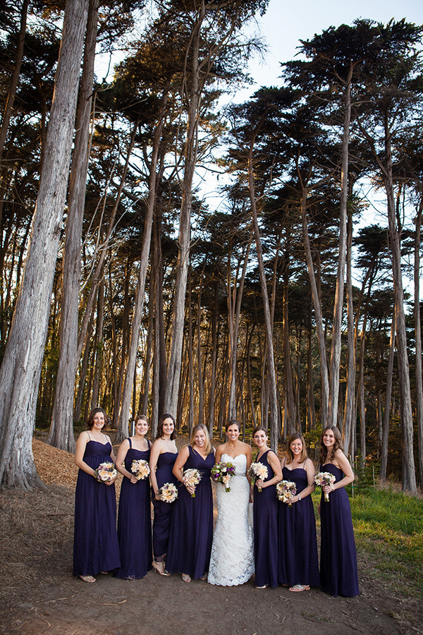 Bay Area Bridal Portraits | Colson Griffith Photography | Sophisticated Blush and Plum San Francisco Wedding