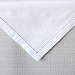 Hemstitch White Napkin