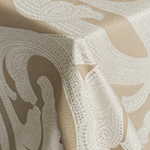 Ankara Taupe Table Linens