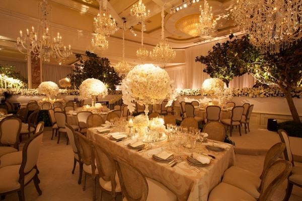 Elegant Cream and White Wedding  | Jose Villa Photography | Luxurious White and Cream Beverly Hills Wedding