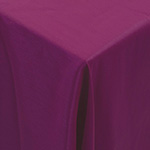 Faux de Soie Magenta Table Linens