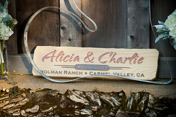 Custom Wedding Sign | Scott Campbell Photography | Rustic Blush Wedding