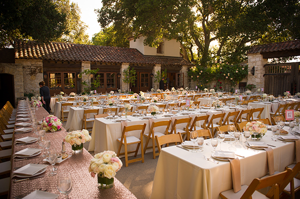 Romantic Rustic Wedding At Holman Ranch In Carmel Valley