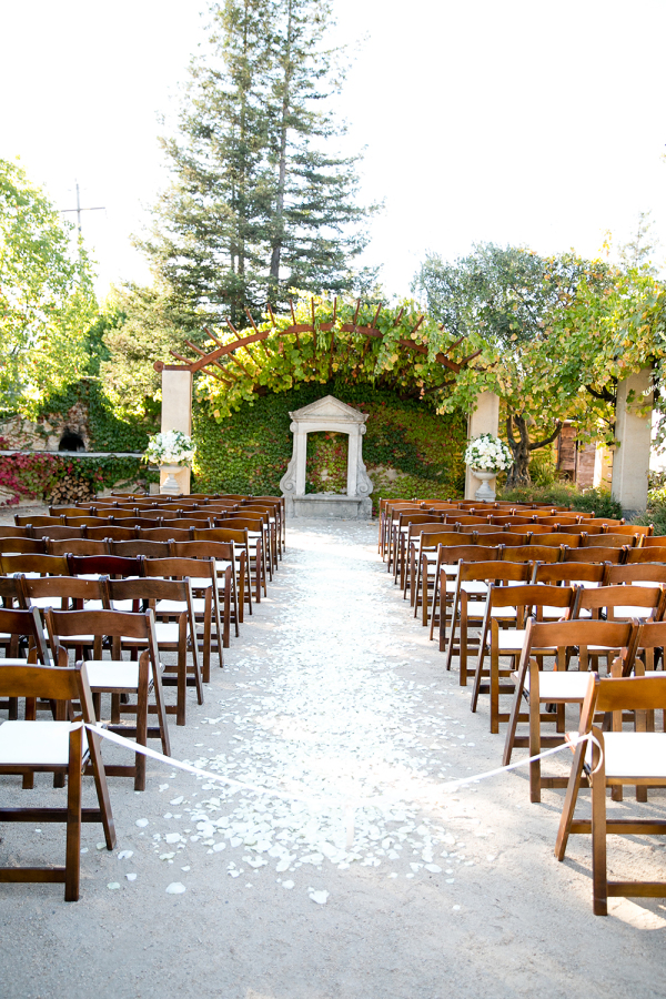 Neutral Wine Country Wedding